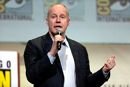 David Yates directed four of the films in the series, including the two-part finale Deathly Hallows. David Yates (27996598333).jpg