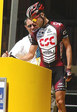 David Zabriskie - Zabriskie at the 2007 Tour de France.