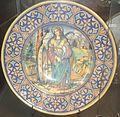 David Zipirovic, piatto con Santa Caterina d'Alessandria.jpg