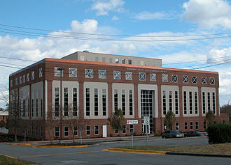 Davidson County, North Carolina - Davidson County Governmental Center in Lexington
