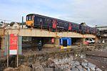 Dawlish Colonnade Viaduct - FGW 150120.JPG