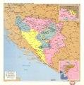 Dayton agreement over areas of control, 24 November 1995 - (Bosnia and Hercegovina). LOC 95685686.tif