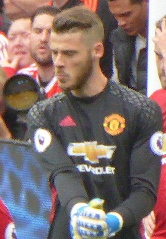 David de Gea - De Gea playing for Manchester United in 2016