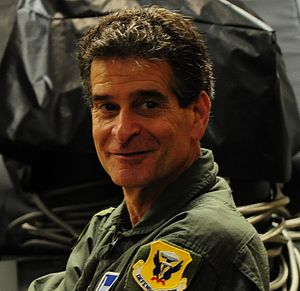 Dean Kamen - Kamen at Whiteman Air Force Base on April 26, 2016