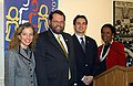 Debbie Wasserman Schultz, Steve LaTourette, Michael Garcia, and Sheila Jackson Lee.jpg
