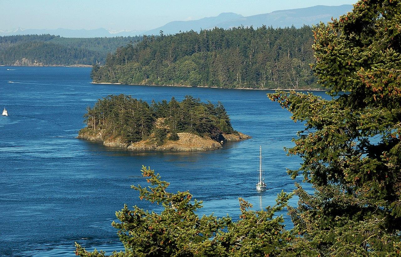 File Deception Pass Puget Sound Washington State
