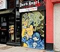 Decorated shutter door, Belfast - geograph.org.uk - 1812489.jpg