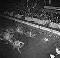 Deense kampioenschappen in de zwemhal van Frederiksberg in Kopenhagen onderdeel , Bestanddeelnr 252-9251.jpg