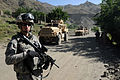 Defense.gov News Photo 100515-F-2718A-101 - U.S. Army Spc. Michael Gaskins of the Parwan Provincial Reconstruction Team security element provides security for the team s engineers in the.jpg