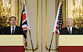 Defense.gov News Photo 100608-F-6655M-007 - Secretary of Defense Robert M. Gates right and British Defense Secretary Liam Fox hold a press conference in the Lancaster House in London on June.jpg