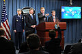 Defense.gov News Photo 110224-D-XH843-007 - Air Force Chief of Staff Gen. Norton A. Schwartz left Secretary of the Air Force Michael B. Donley Deputy Secretary of Defense William J. Lynn.jpg