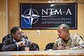Defense.gov News Photo 111213-D-BW835-021 - Secretary of Defense Leon E. Panetta listens as Commander of U.S. and International Forces in Afghanistan Gen. John R. Allen U.S. Marine Corps.jpg