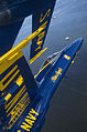 Defense.gov News Photo 120615-N-BA418-048 - Capt. Brandon Cordill left wingman of the U.S. Navy flight demonstration squadron the Blue Angels flies with the canopy of his F A-18 Hornet.jpg