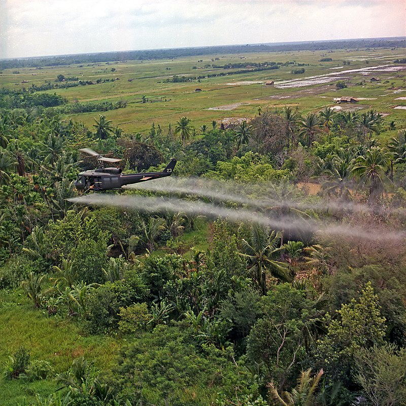 Defoliation agent spraying.jpg