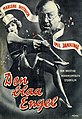 Den blaa Engel (The Blue Angel) (film) Danish poster, Marlene Dietrich, Emil Jannings.jpg