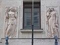 Department store. SE. Reliefs (R) - 1-3., Váci Street, Budapest.JPG
