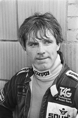 Derek Daly - Derek Daly at Zandvoort in 1982