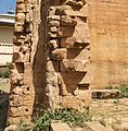 Detail, Outer Wall Construction, Temple of the Moon, Ethiopia (3136213912).jpg