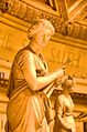 Details of Euterpe, with Calliope in the background, Gould Memorial Library, Bronx Community College.jpg