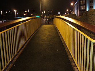 River Swilly - Devlin Way at night