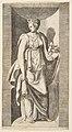 Diana holding fruit in her left hand standing within a niche MET DP812749.jpg