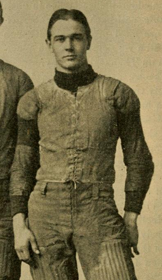 Benjamin Dibblee - Dibblee pictured in The Official National Collegiate Athletic Association football guide, 1899