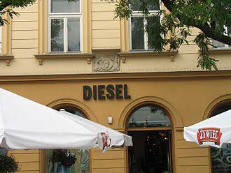 Diesel (brand) - Diesel store in Kraków, Poland