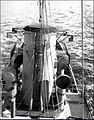Diffused lighting camouflage HMCS Kamloops funnel 1943.jpg