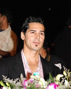 English: Dino Morea at the Gladrags Mega Model...