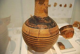 Dipylon Inscription - Image: Dipylon Oinochoe