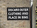 Discard your clothing - geograph.org.uk - 1197500.jpg