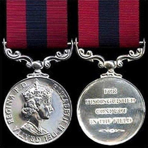 Distinguished Conduct Medal - Elizabeth II