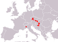 Distribution F.magna EuropeII.png