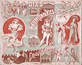 Dix's Gaiety Company -Programme (Theatre Royal Wellington. 1901-02. Red and green cover spread). (21597689422).jpg