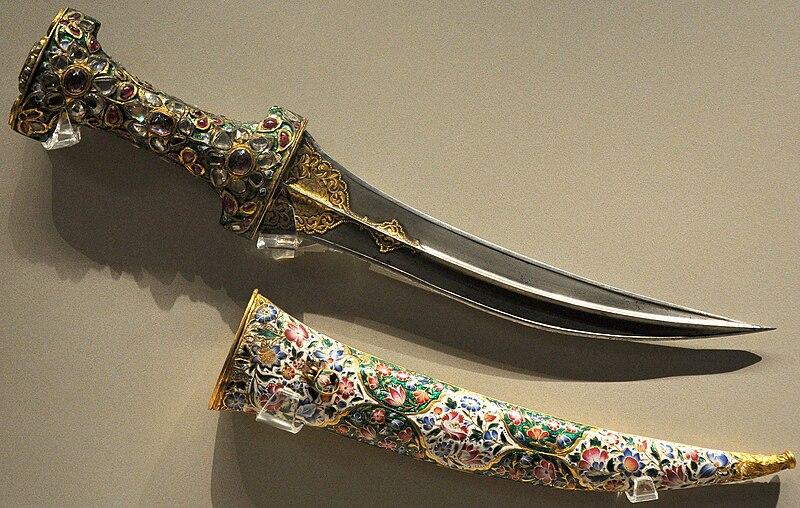 File:Dolch Fath Ali Shah 1750-1800.JPG