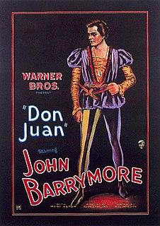<i>Don Juan</i> (1926 film) 1926 film by Alan Crosland