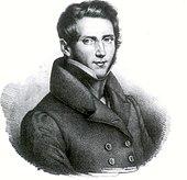 Donizetti als junger Komponist (1820er Jahre) (Quelle: Wikimedia)