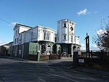 Une vue du pub de Liverpool dénommé Dovetail Towers, au-dessus duquel Freddie Mercury a vécu courant 1969