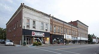 Greensboro, Alabama - Main Street in Greensboro