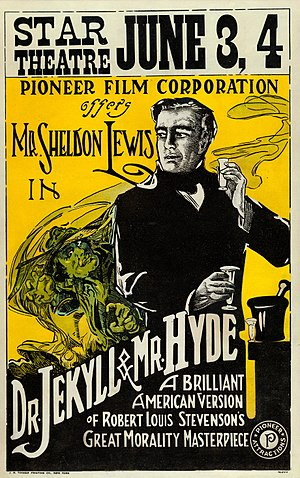 Dr. Jekyll and Mr. Hyde (1920 Haydon film) - Image: Dr.Jekyll and Mr. Hyde window card