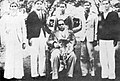 Dr. Ambedkar was felicitated by 'Belgaum Teachers Association' at Belgaum in 1940.jpg