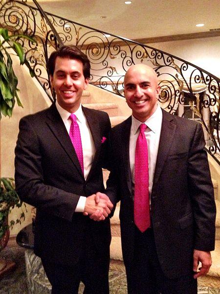 File:Dr. Nikan Khatibi & California Gubernatorial Candidate Neel Kashkari.jpg