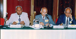 Farman Fatehpuri - Fatehpuri at a seminar organised by Special Teachers' and Parents' Resource Center, Karachi