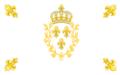 Drapeau blanc du Royaume de France (1825) autre version.png