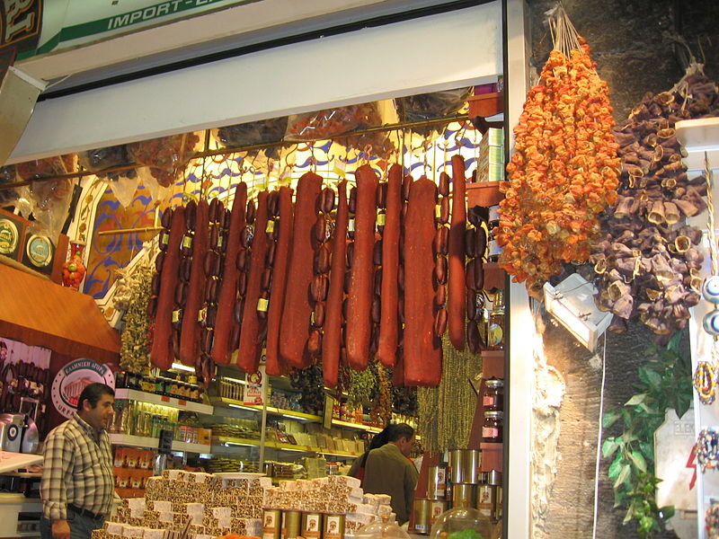 Dried Vegetables' Stall