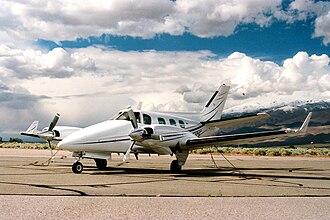 Beechcraft Duke - Image: Duke 2