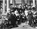 Duke of York and Cornwall visit to Toronto, 1901, at Government House.jpg