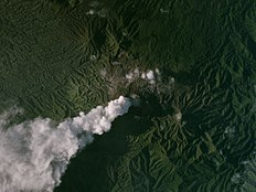 Dukono, Indonesia, 2017-03-29 by Planet Labs.jpg