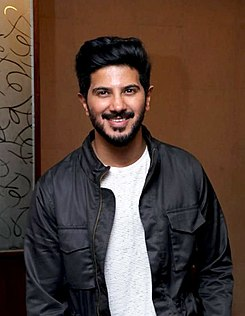 Dulquer Salmaan at Karwaan promotions (cropped).jpg