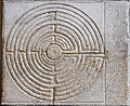 Duomo Lucca cathedrale Lucques labyrinthe.jpg